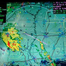 Cirrus Avidyne NEXRAD Radar Display