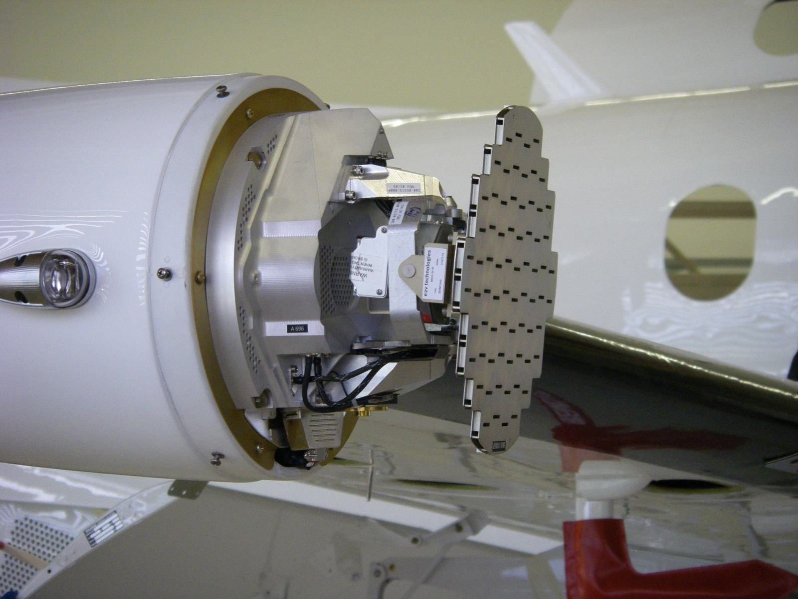 PC-12 RADAR Pod Exposed