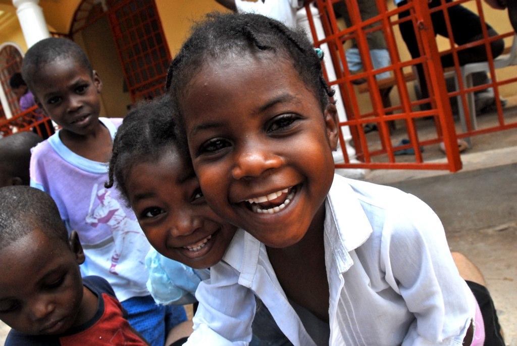 kids at lifeline haiti orphanage