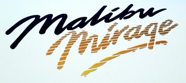 Piper Malibu Mirage graphic logo