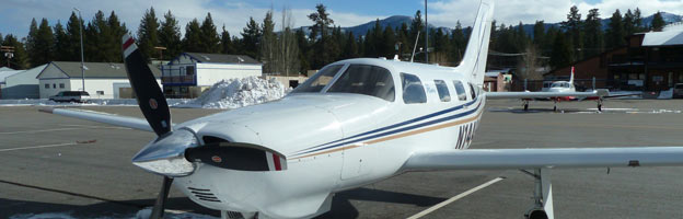 Piper Matrix PA-46R-350T at Big Bear, CA L35 photo