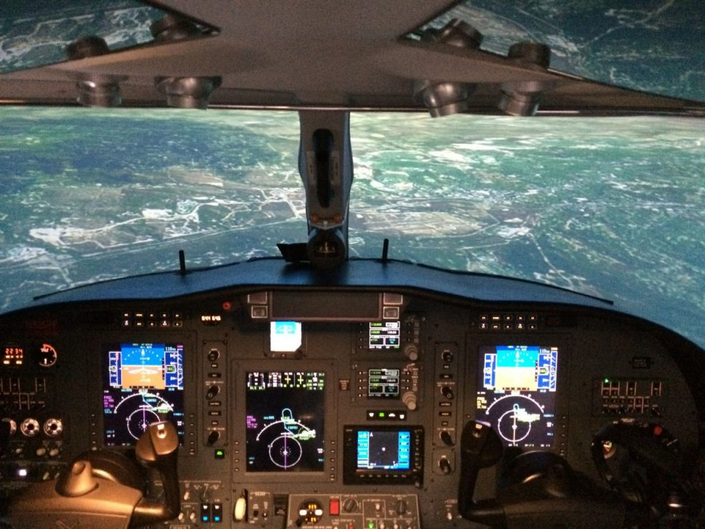 CJ3 Level 6 Cockpit