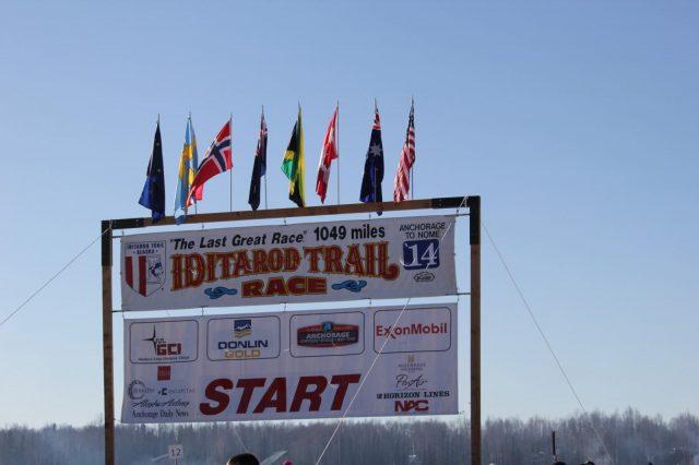 Iditarod 1049 Miles - Starts Here