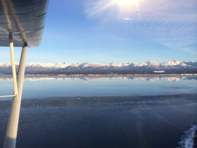 Mountain Reflection - Goose Bay AK