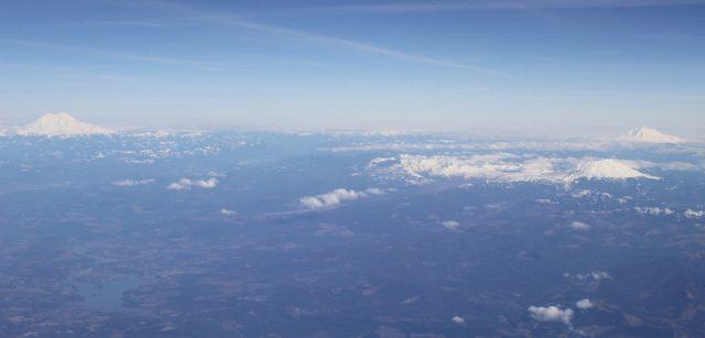 Mt. Rainier Mt. Hood Mt. St. Helens