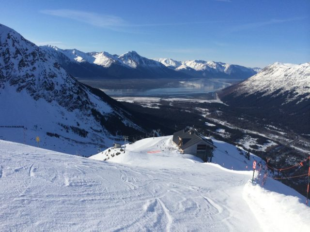 View from Alyeska Ski Area
