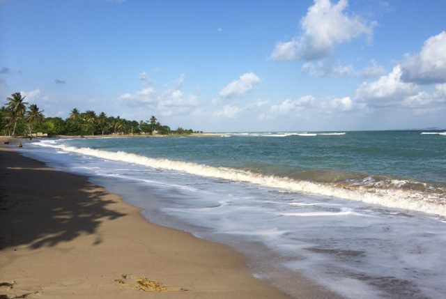 Gorgeous beach in Les Cayes