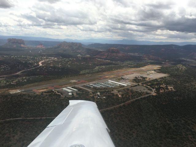 KSEZ Sedona Airport Aerial View