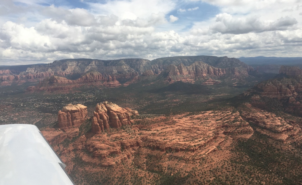 Sedona AZ – Riding the Red Rocks – Montgomery (KMYF) to Sedona (KSEZ)