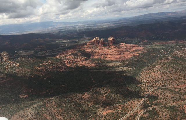 Sedona Towers Aerial View