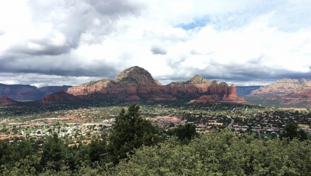 Sedona View from Airport Mesa - amazing!