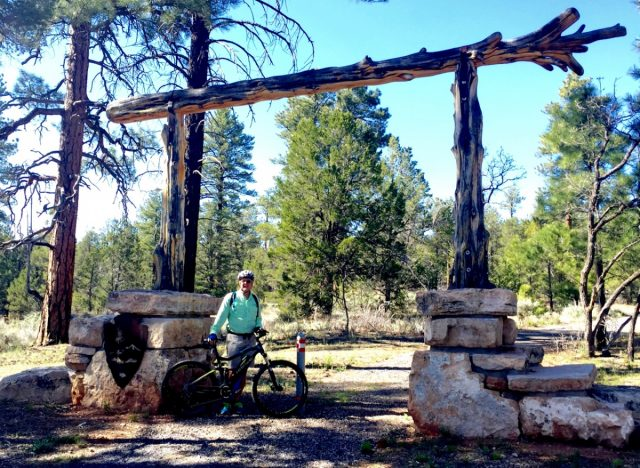 Entrance to Greenway Trail - Tusayan Grand Canyon