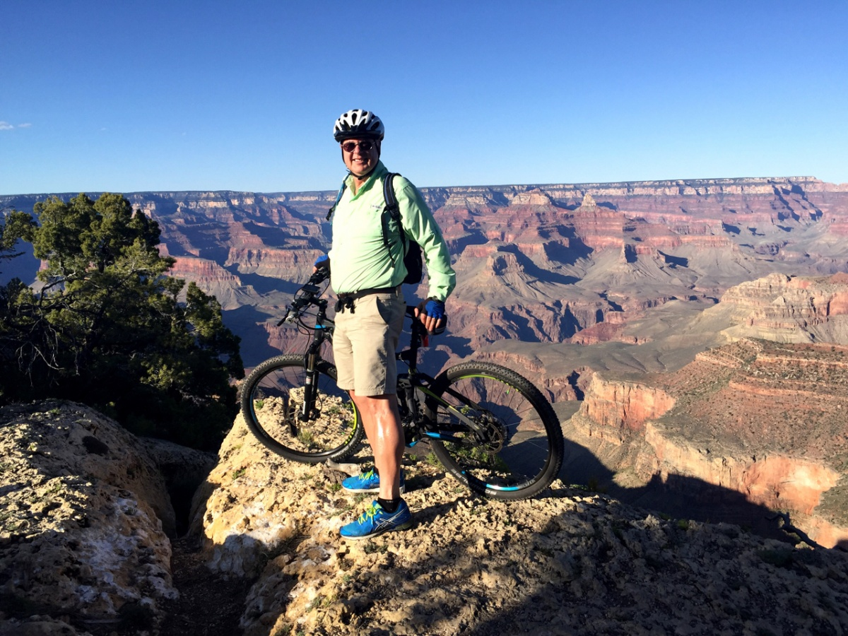 Biking the Grand Canyon South Rim – Flying from KMYF to KGCN