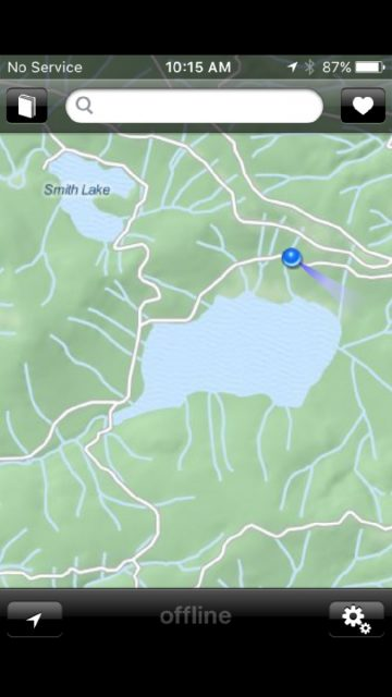 Offmaps - Snake and Smith Lake
