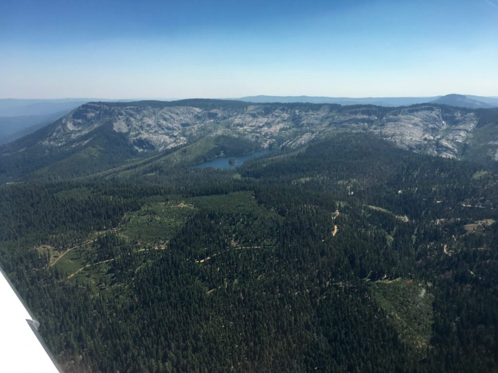 Silver Lake from our Cirrus