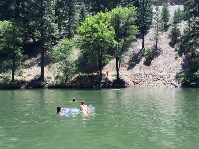 Spanish Creek Swimming Hole