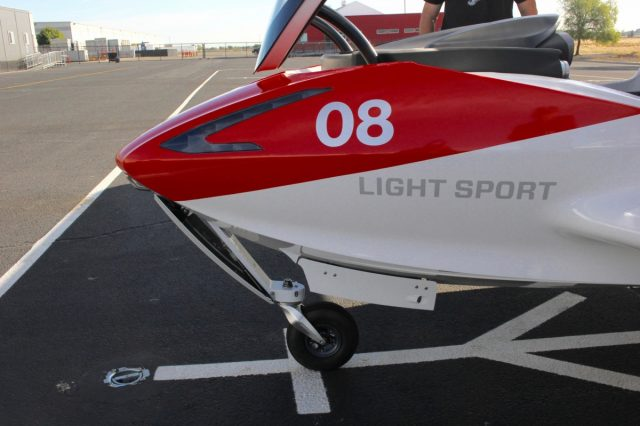 ICON A5 Nose Gear inspection