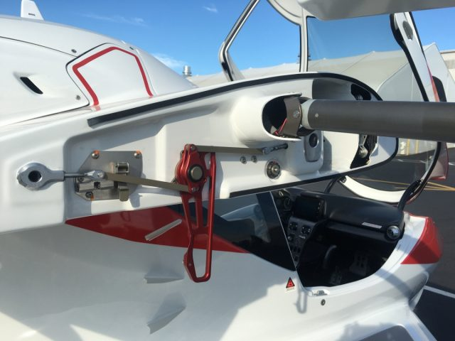 ICON A5 Wing Folding Mechanism