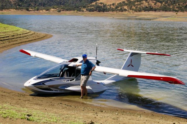 Rich Beaching at Eagle Island - ICON A5 Review
