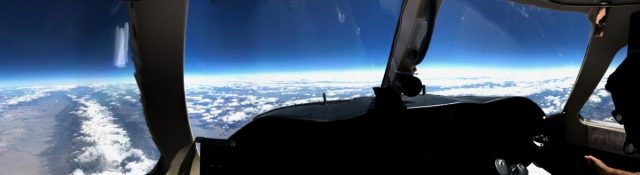 Sometimes it is just nice to look outside - and enjoy the view from Fl450