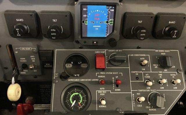 CJ3 Fusion Baro and Radar Controls