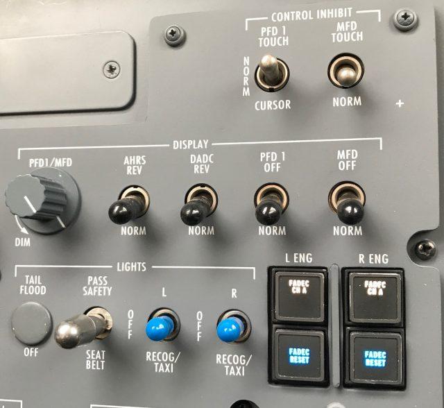 Pro Line Fusion CJ3 Display Control - Pilot All Normal