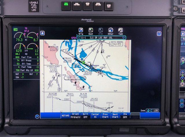 CJ3 - On Single Engine Approach - ILS RWY 10L KPDX