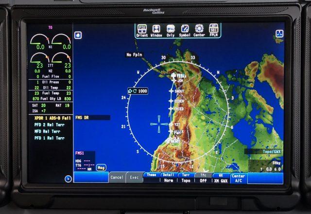 Viewing the Alternative Flight Plan KHIO-PANC before departing KLNK