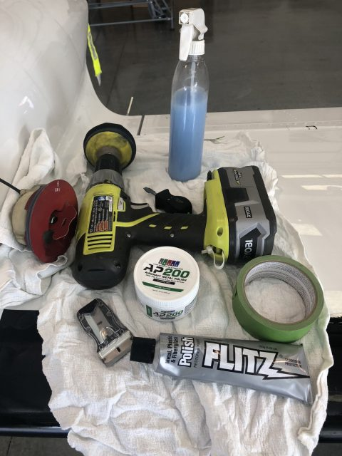 Getting Ready - Supplies and Tools