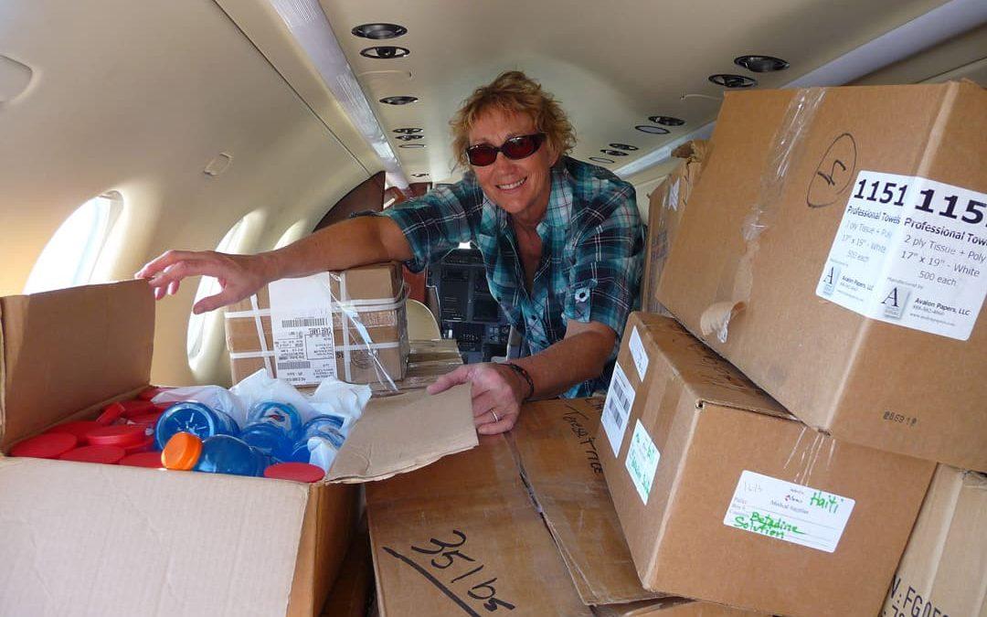 Airlift to Haiti Day 1