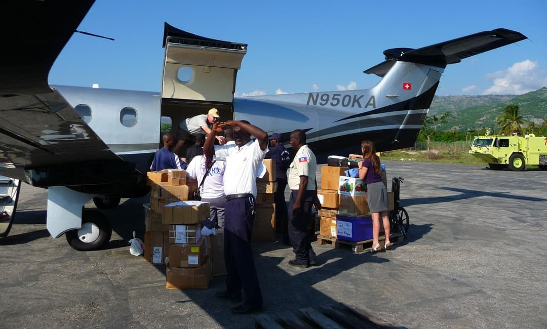 Haiti Relief Flights