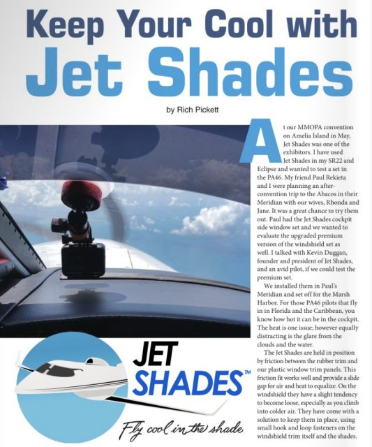 MMOPA Jet Shades Review July 2019