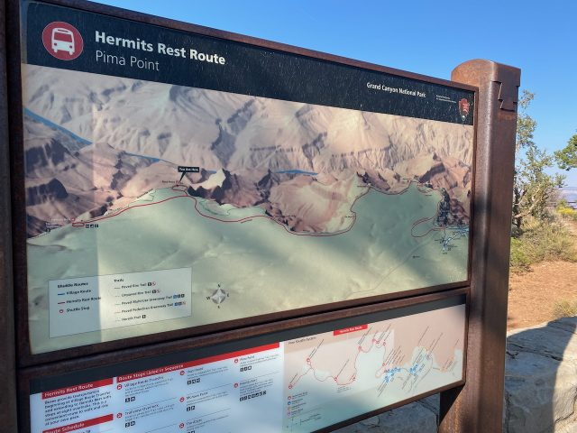 Pima Point - Hermits Rest Route
