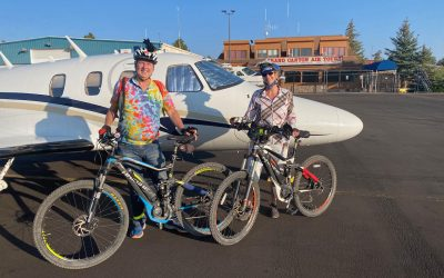 Mountain Biking and Flying – What Could be Better!