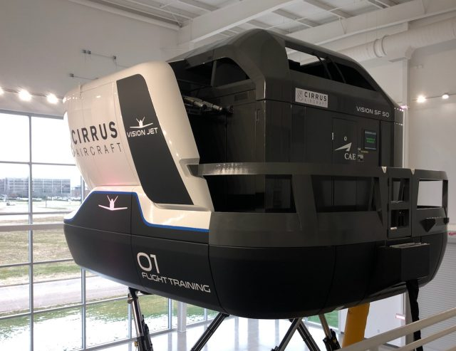 Cirrus Vision Jet Simulator